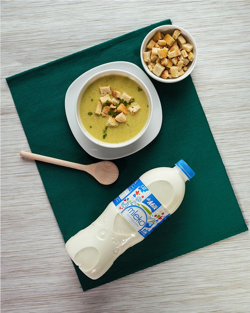 Recept za belu krem čorbu od tikvica i mleka